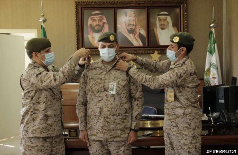 ترقية مبارك ناصر الشبيب إلى رتبة مقدم