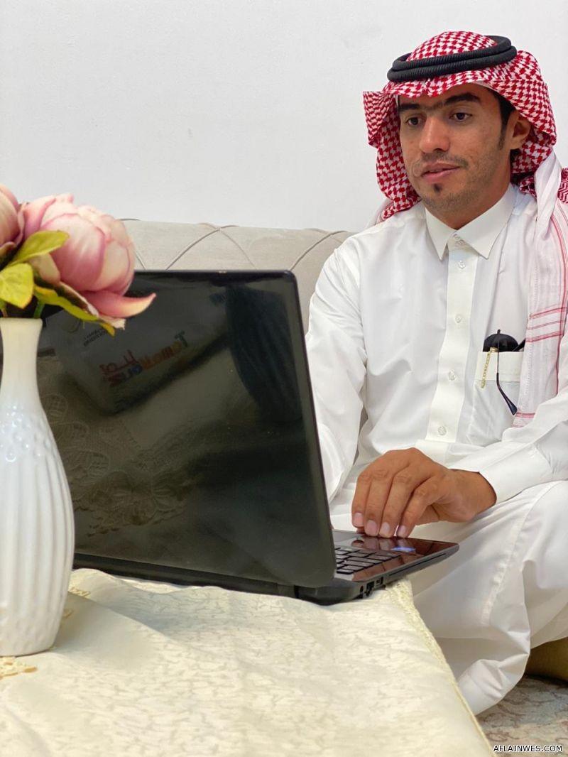 فهد آل دحيم يحصل على درجة الدكتوراة