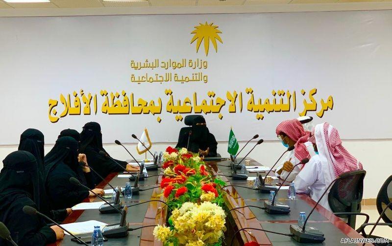 """برئاسة """" العقلا """" ... نوارة التطوعي يعقد الاجتماع التأسيسي بالأفلاج"""