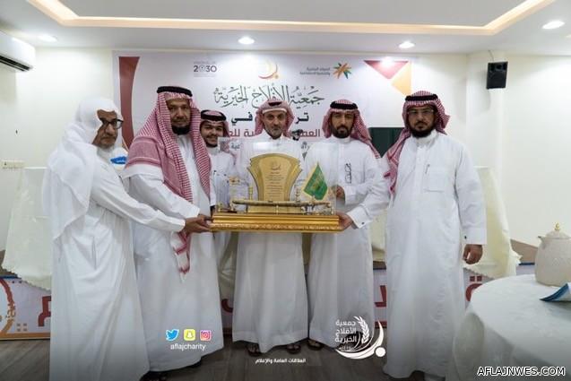 جمعية الأفلاج الخيرية تستقبل الدكتور محمد الجذلاني